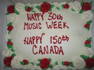 Chopin 2017 - cake
